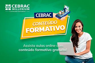 CEBRAC oferece conteúdo gratuito para contribuir na formação profissional da população